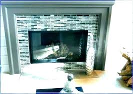 tiling a brick fireplace reface brick fireplace with tile tile over brick fireplace mosaic refacing with