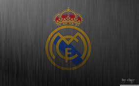 Real Madrid Metal Logo Ultra HD Desktop ...