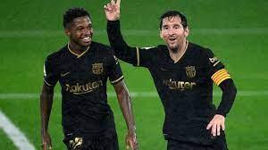 Ansu Fati handed Lionel Messi's No 10 ...