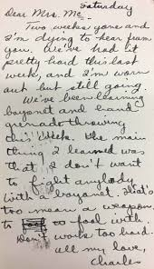 Letter From Charles Wellborn To Elma Merle Mears Mcclellan Flickr
