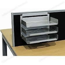 desk paper tray. Plain Desk Elite Linnea System Screen Hanging Paper Trays  Inside Desk Tray