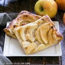 easy french apple tart that skinny