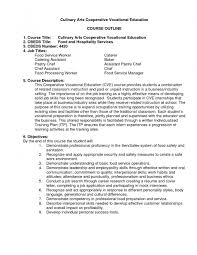 Food Service Resume Template 74 Images Objective For Food
