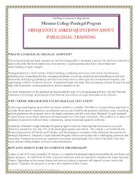 Job Resume Paralegal Cover Letter Sample Career Objective For