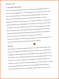 Speech Outline Graduation Speech Outline Apa Examples 18
