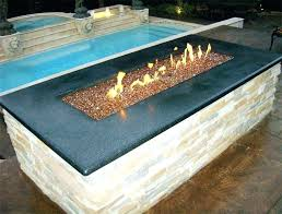 glass fire pit kits how much glass for fire pit glass rock fire pit table how
