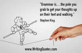 Grammar Quotes Stunning Stephen King Quotes Grammar Walking