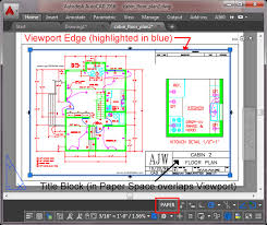 how to set scale in autocad layout layouts and plotting in autocad 2016 tutorial and s
