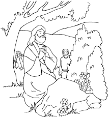 Small Picture Jesus Praying in the Garden