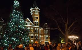 Auburn Football Christmas Lights Auburn University Lights Annual Holiday Display News