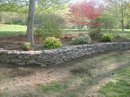 stone retaining walls natural stone retaining wall and flower travelemag
