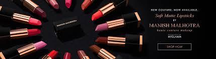manish malhotra soft matte lipstick