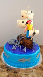 Pirates Ship Birthday Cake Cakecentralcom
