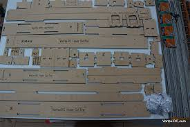 kit includes laser cut precision interlocking parts and complete hardware for the build