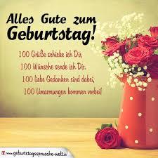 100 Liebe Grüße Zum Geburtstag Texte Und Reime