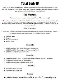 New Workout | The Fitness Rebellion