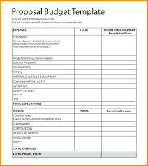 Budget Proposal Template Excel Floridaframeandart Com Wonderful Cv Budget Proposal Template Excel