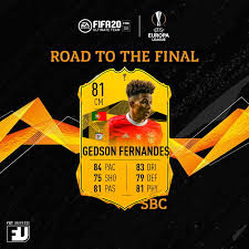 FIFA 20 SBC Gedson Fernandes Road to the Final: le soluzioni