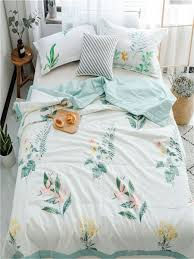 1pc air conditioner summer quilt fl plant pattern comfortable comforter bedding sets at chic 69hjh82j3ben