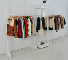 furniture for hanging clothes. iron clothing store display racks for hanging clothes rack garment floor menu0027s womenu0027s furniture 0