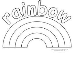 Small Picture Printable Rainbow Coloring Page FunyColoring