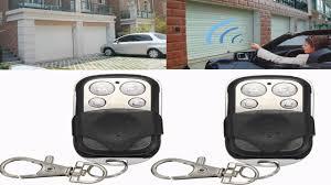 key fob garage door openerINSMA 43392MHZ 433MHZ Electric Cloning Gate Garage Door Remote