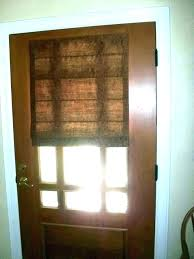 front door window cover glass shades for french