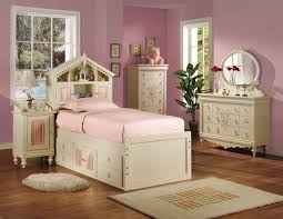 Bookcase Bedroom Furniture Doll House Bookcase Bedroom Set In Cream