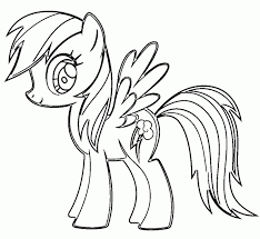 Small Picture My little pony coloring pages rainbow dash baby