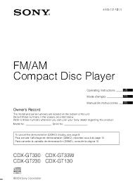 search sony m 470 user manuals manualsonline com sony mex-bt3600u wiring diagram at Sony Mex Bt3600u Wiring Diagram