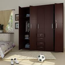 This is 5 Doors Wooden Wardrobe. Code is Product of Wardrobes - Fitted  Fixed Wooden Standing 5 doors wardrobes ready on order Al Habib