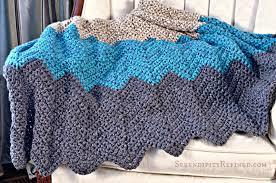 serendipity refined blog easy crochet throw blanket pattern