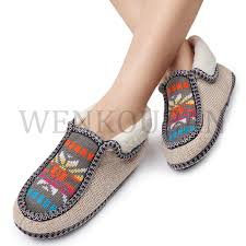 Women Slippers Winter <b>Indoor Warm Fur Slides</b> Ladies Flip Flops ...