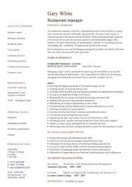 Management Cv Template Managers Jobs Director Project With Resume