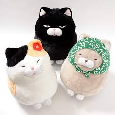 Hige Manjyu Fuku Cat Plush Collection (Big)