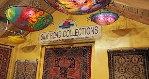 silk road collections entrance in santa fe new mexico