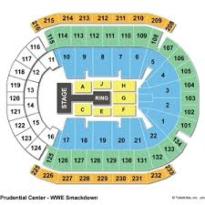 Lca Seating Chart Wwe 77 Meticulous Prudential Center Chart