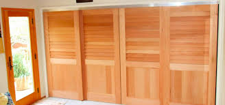 wooden sliding closet doors