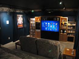 decorations affordable home theater design ideas with brown
