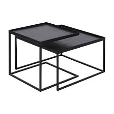 square coffee tray table s 2 low the