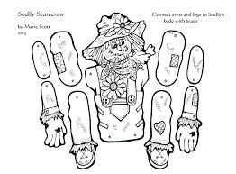 seasons coloring pages printable scarecrow color by number best images on autumn f