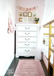 white and gold room ideas a shabby chic glam girls bedroom design idea in blush pink
