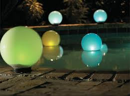 These Solarpowered LED Lights Come In The Form Of flushtothe Solar Backyard Lighting
