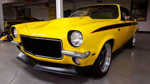 The 1971 Chevy Vega Nick Named Jega Is Powered By A Chevrolet Performance Lsx 454 Engine Hughes 4l60e Transmission And For Chevrolet Vega Chevy Chevrolet