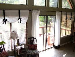 image of awesome window treatments sliding glass doors ideas