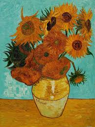 the art of color polymer clay bootcamp van gogh sunflowershow to paint sunflowerspaintings
