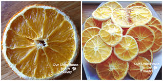 Drying Out Oranges Christmas Decorations How To Make Dried Orange Slices Our Little House In The Country