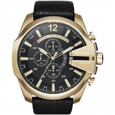 men s oversized watches large watches for men francis gaye men s oversized mega chief gold tone chronograph watch