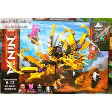 Lắp ráp xếp hình lego ninjago 66033 : Rồng vàng golden của các ...