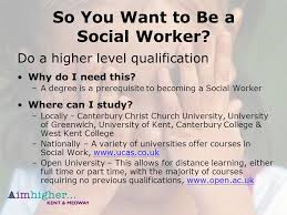 Become A Social Worker Why I Want To Become A Social Worker